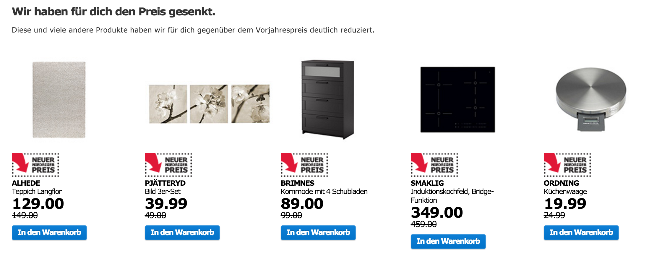 ikea restposten ausstellungsst cke und angebote. Black Bedroom Furniture Sets. Home Design Ideas