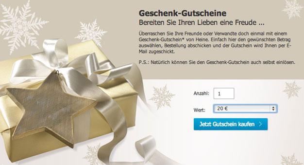 brand new 7ffae 9c590 Heine Gutschein Oktober & September 50% Gutscheincode
