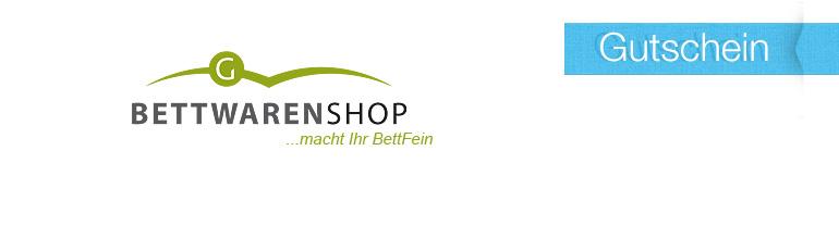 Gutschein Bettwaren Shop 2019
